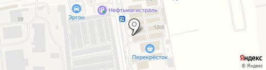 Краски.ru на карте Старой Купавны