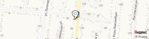 Продовольственный магазин на карте Абинска