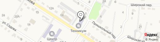 Общежитие на карте Узловой