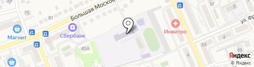 Средняя общеобразовательная школа №22 им. И.И. Назина на карте Старой Купавны