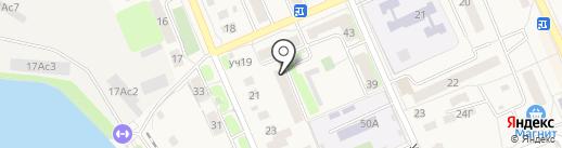 Лагуна-М на карте Старой Купавны