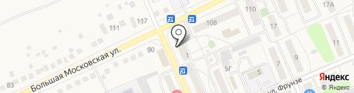 Служба бытовых услуг на карте Старой Купавны
