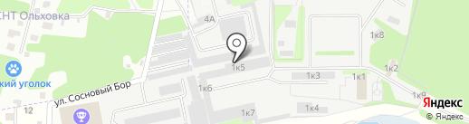 Актив на карте Раменского