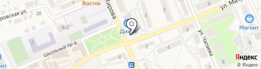 Займ-Экспресс на карте Старой Купавны