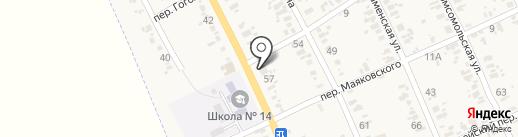Фристайл на карте Иловайска