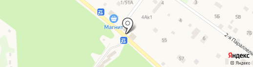 Шиномонтажная мастерская на карте Кратово