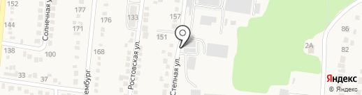 Автотехцентр для ГАЗ на карте Абинска