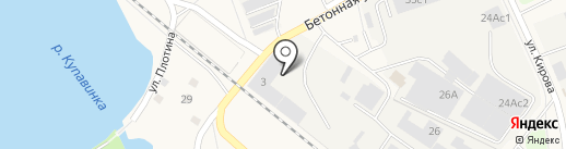 КТВ на карте Старой Купавны
