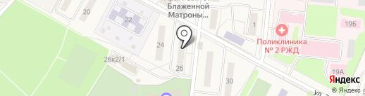 Банкомат, Среднерусский банк Сбербанка России на карте Узловой
