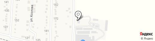 Нива на карте Абинска