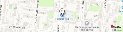 Банкомат, Банк ВТБ 24, ПАО на карте Узловой