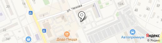 Купавна 2018 на карте Старой Купавны