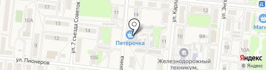 Пятёрочка на карте Узловой