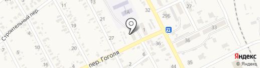 Олеся на карте Иловайска