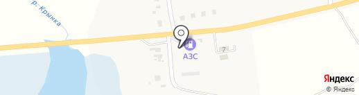 АЗС Олеся на карте Нижней Крынки
