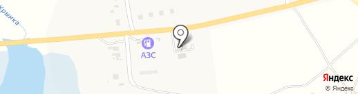 Нижнекрынский ветеринарный участок на карте Нижней Крынки