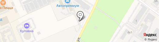 АвтоПремиум на карте Старой Купавны