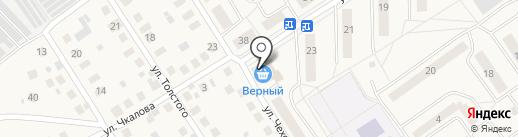 Верный на карте Лосино-Петровского