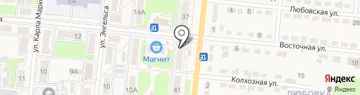Каблучок на карте Узловой