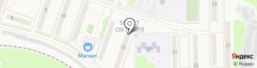 Аргун К на карте Узловой