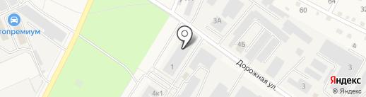 База №1 Химреактивов, ЗАО на карте Старой Купавны