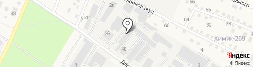База №1 Химреактивов на карте Старой Купавны