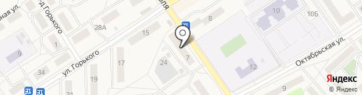 Участковый пункт полиции на карте Лосино-Петровского