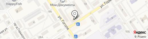 Росгосстрах на карте Лосино-Петровского