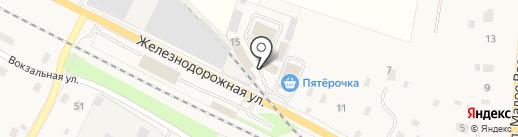 Торговый двор на карте Электроуглей