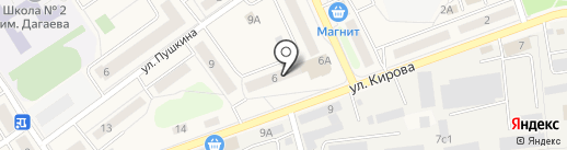 Управдом на карте Лосино-Петровского