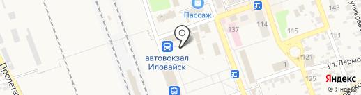 DVD на карте Иловайска
