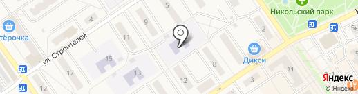 Детский сад №6 на карте Лосино-Петровского