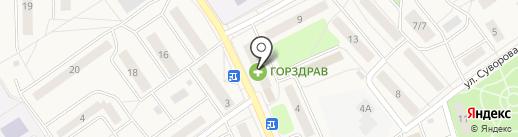 Unisec на карте Лосино-Петровского