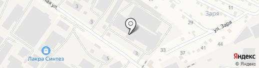 Контейнерный терминал Купавна на карте Старой Купавны