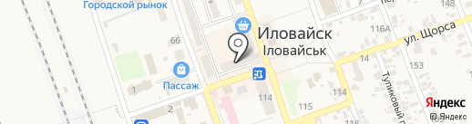 КБ ПриватБанк, ПАО на карте Иловайска