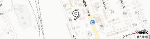 Линейный отдел на ст. Иловайск на карте Иловайска