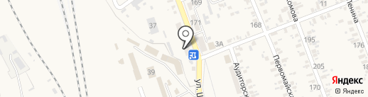 Золушка на карте Иловайска