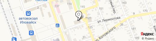 Вторая Харцызская нотариальная контора на карте Иловайска