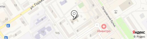 Отдел образования, культуры и спорта на карте Лосино-Петровского