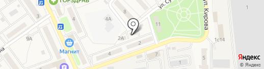 Магазин товаров для дома на карте Лосино-Петровского