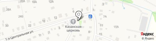 Храм-часовня в честь Иконы Казанской Божьей Матери на карте Электроуглей