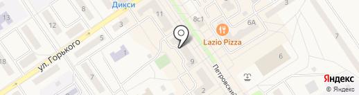 Салон оптики на карте Лосино-Петровского