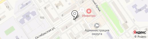 ДЕЗ КРАСНОСЕЛЬСКОГО РАЙОНА, ЗАО на карте Лосино-Петровского