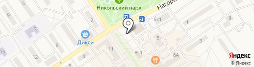 Диана на карте Лосино-Петровского