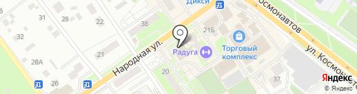 ЗаОдно на карте Раменского