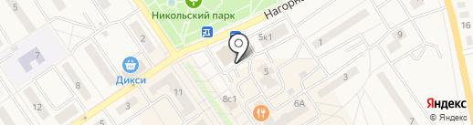 Строительный Альянс, ЗАО на карте Лосино-Петровского