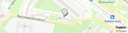 Ням-Ням на карте Раменского