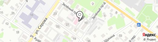 Ветеринарная лаборатория на карте Раменского