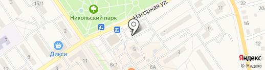 Азбука Жилья на карте Лосино-Петровского