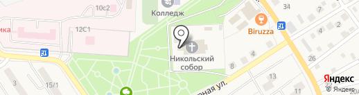 Лосино-Петровское благочиние на карте Лосино-Петровского